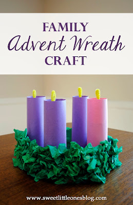 http://www.sweetlittleonesblog.com/2015/11/family-advent-wreath-craft-for-kids.html