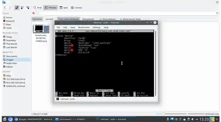 Cara Install Intel Graphic card Brightness di Kubuntu - mantankode