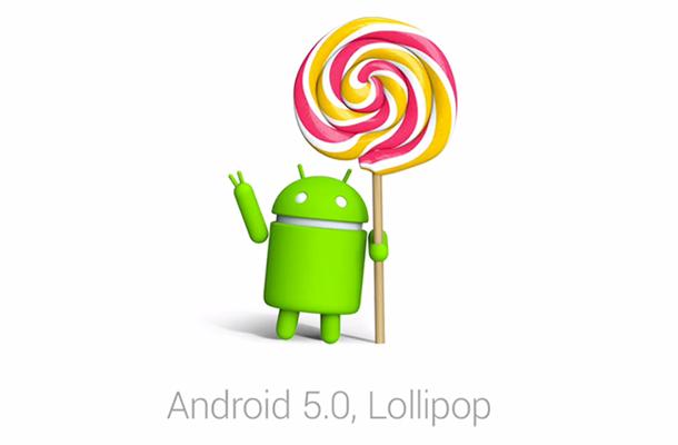 jenis android lollipop