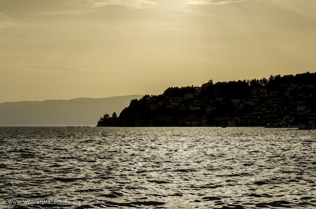Sunset - Ohrid Lake, Promenade Macedonia