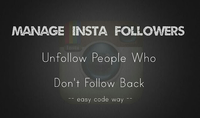 Unfollow people who don't follow back