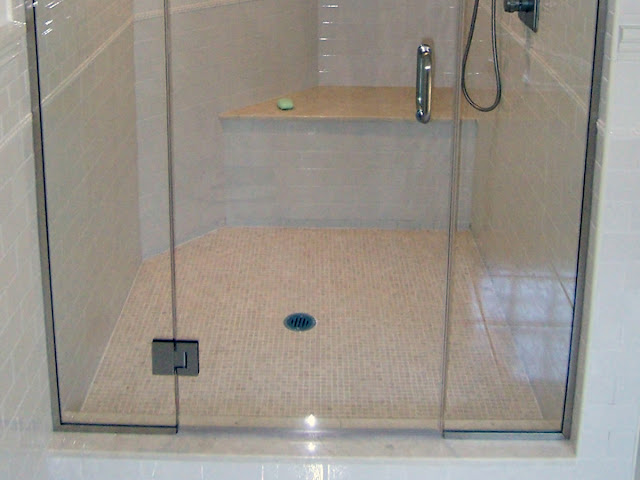 How to install the glass shower doors