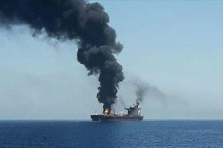 Ledakan Penghantam Kapal Tanker Iran