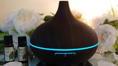 revue avis victsing diffuseur humidificateur huiles essentielles test review