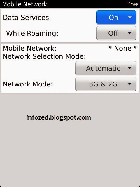 How to Connect Wifi in Blackberry 9810 Torch Mobile Phone