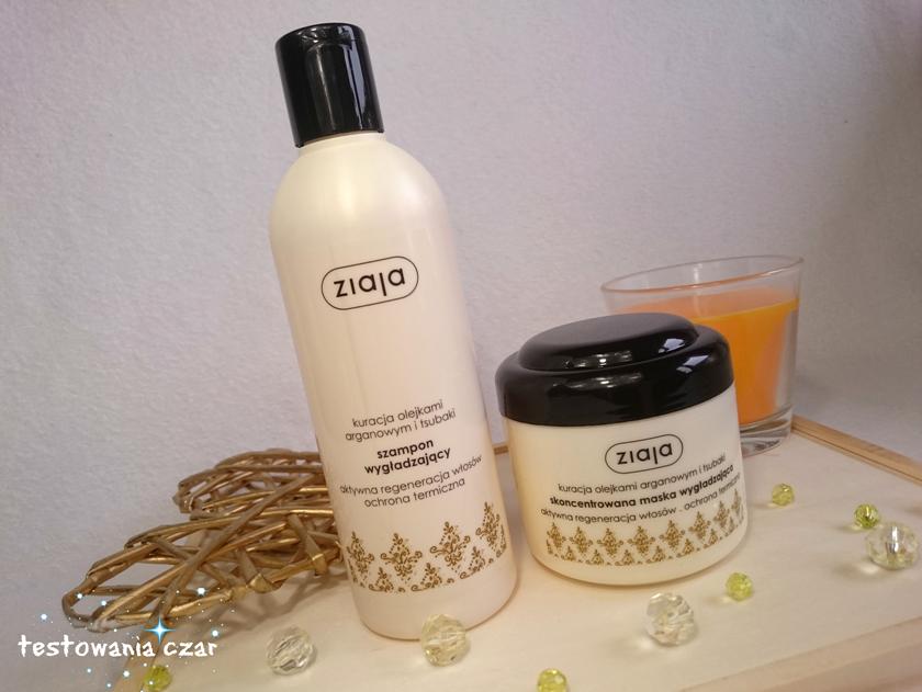 BOX ONLY YOU Dookoła włosów - Szampon i maska Ziaja - kuracja olejkami arganowym i tsubaki