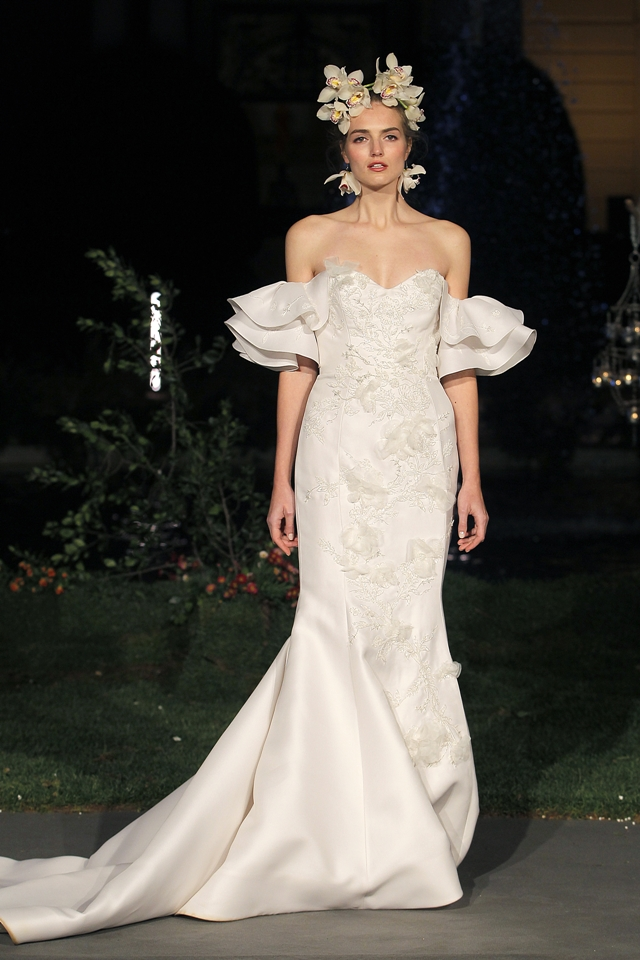desfile marchesa barcelona bridal week - blog mi boda