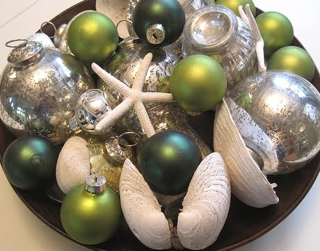 decorative Christmas bowl