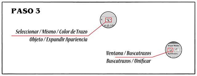 Tutorial en español de Adobe Illustrator para Crear Cabello Estilizado Paso 03