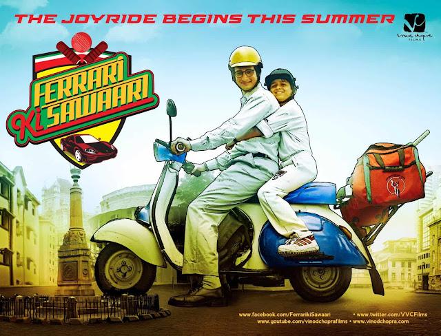 Ferrari Ki Sawaari Bollywood Movie based on Cricket