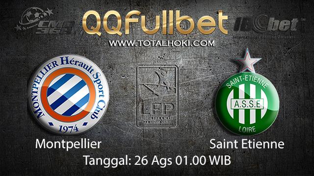 Prediksi Bola Jitu Montpellier vs Saint Etienne ( French Ligue 1 )
