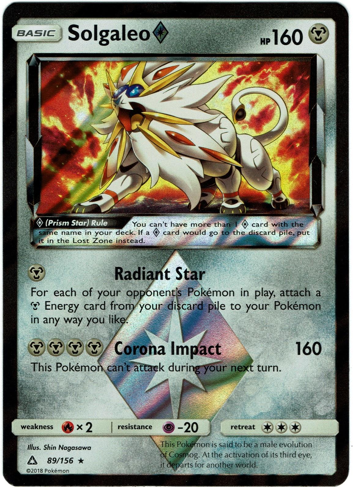 Pokemon Tcg Ultra Prism My Initial Thoughts Primetimepokemons Blog