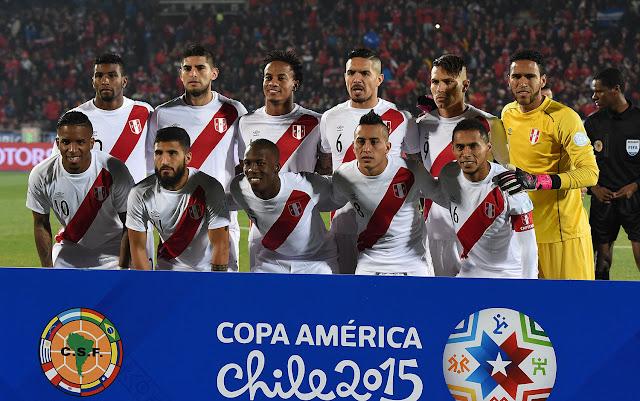Formación de Perú ante Chile, Copa América 2015, 29 de junio