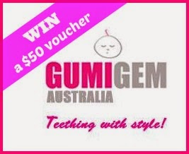 win a $50 voucher for silicone teething products for mums and babies from Gumigem
