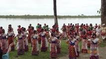 Dance in Majuli Island, Assam