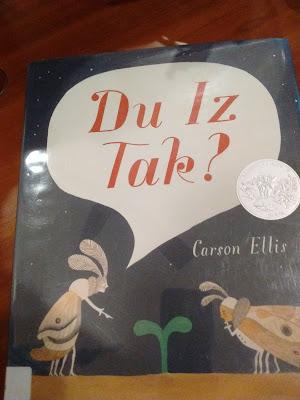 https://www.amazon.com/White-Read-Aloud-Award-Picture-Books/dp/0763665304/ref=sr_1_1?s=books&ie=UTF8&qid=1524798690&sr=1-1&keywords=du+iz+tak+by+carson+ellis