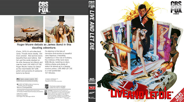 Live and Let Die Bluray Cover