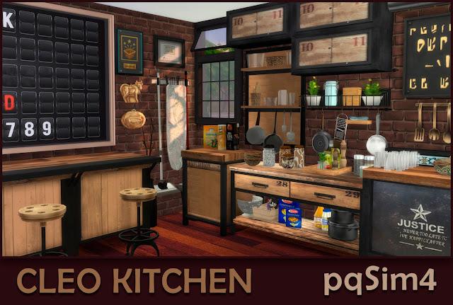 Cleo Kitchen. Detalle 2