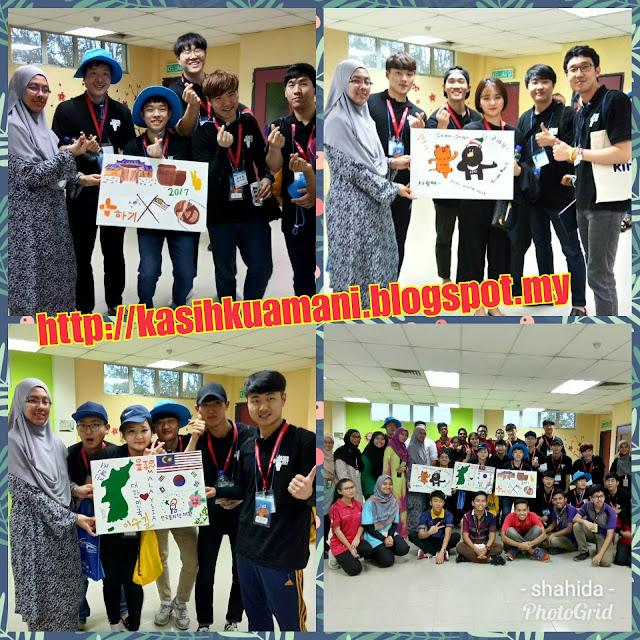 CSR Bersama Pelajar Dari Korea