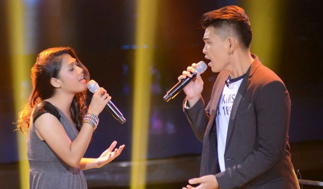 Watch Darryl Ong vs. Samantha Felizco of Team Apl's The Voice Final Battle Rounds December 20
