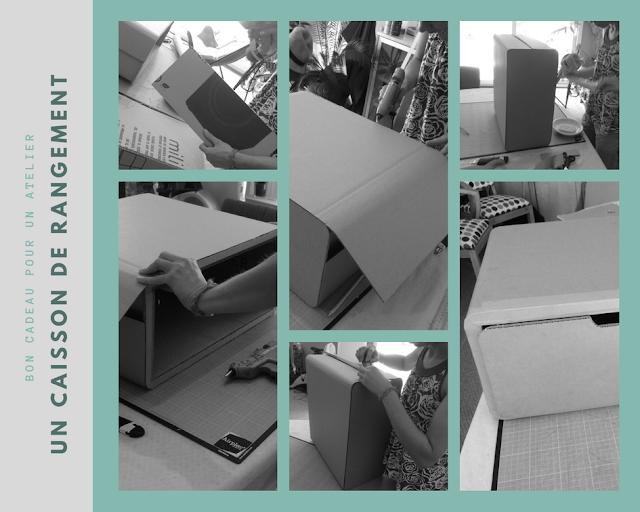atelier meubles en carton