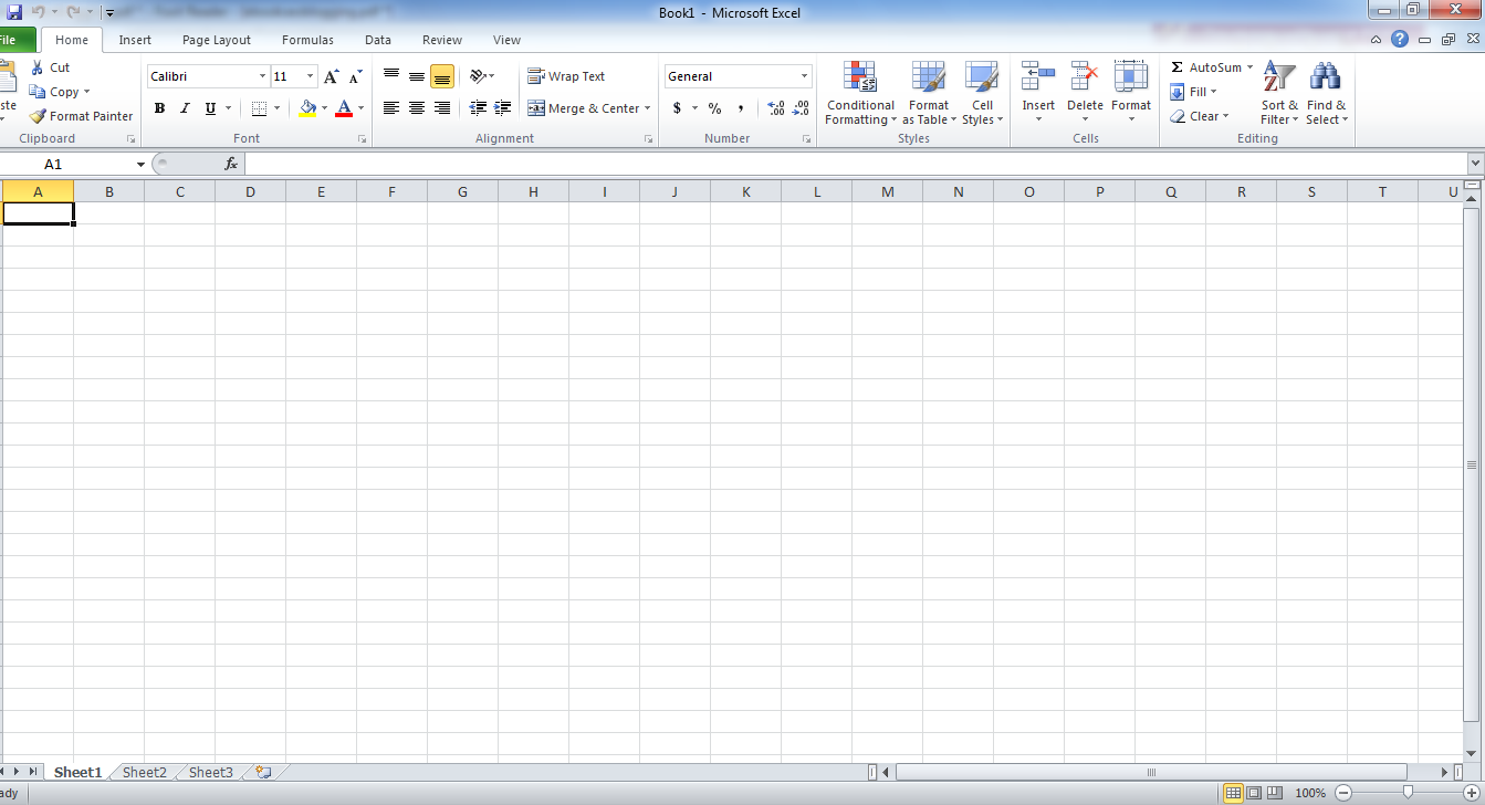 Like other application programs microsoft excel also has a History history, Function and Understanding of Microsoft Excel