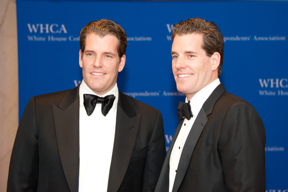 The twins Winklevoss - Cameron and Tyler