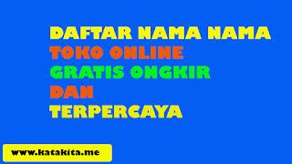 Toko Online Gratis Ongkir