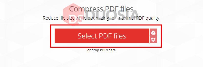 cara mudah kompres pdf