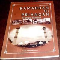 Buku Ramadhan di Priangan, Nostalgia Tradisi Bulan Puasa di Kota Bandung