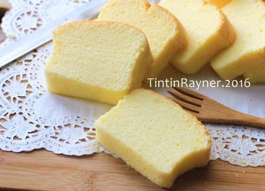 Condensed Milk Cotton Cake 5 Bahan Smooth dan Silky Recomended