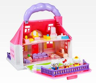 Gambar Rumah Hello Kitty Mainan 5