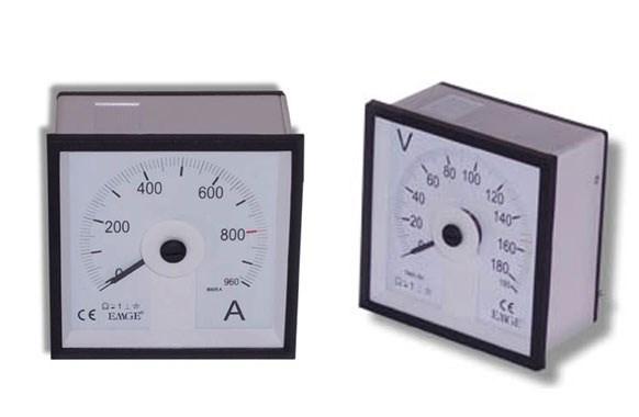 ampermetre voltmetre