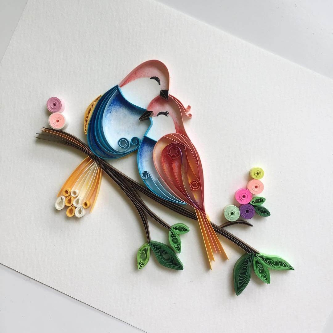 12-Valentine-Lovebirds-Wing-Paper-Quilling-Art-Designs-www-designstack-co
