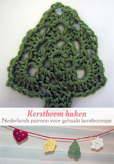 Gratis haakpatroon kerstboom