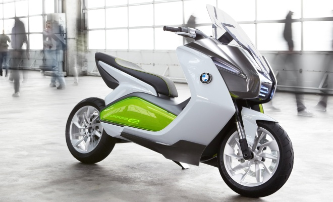 BMW Concept-e electric scooter