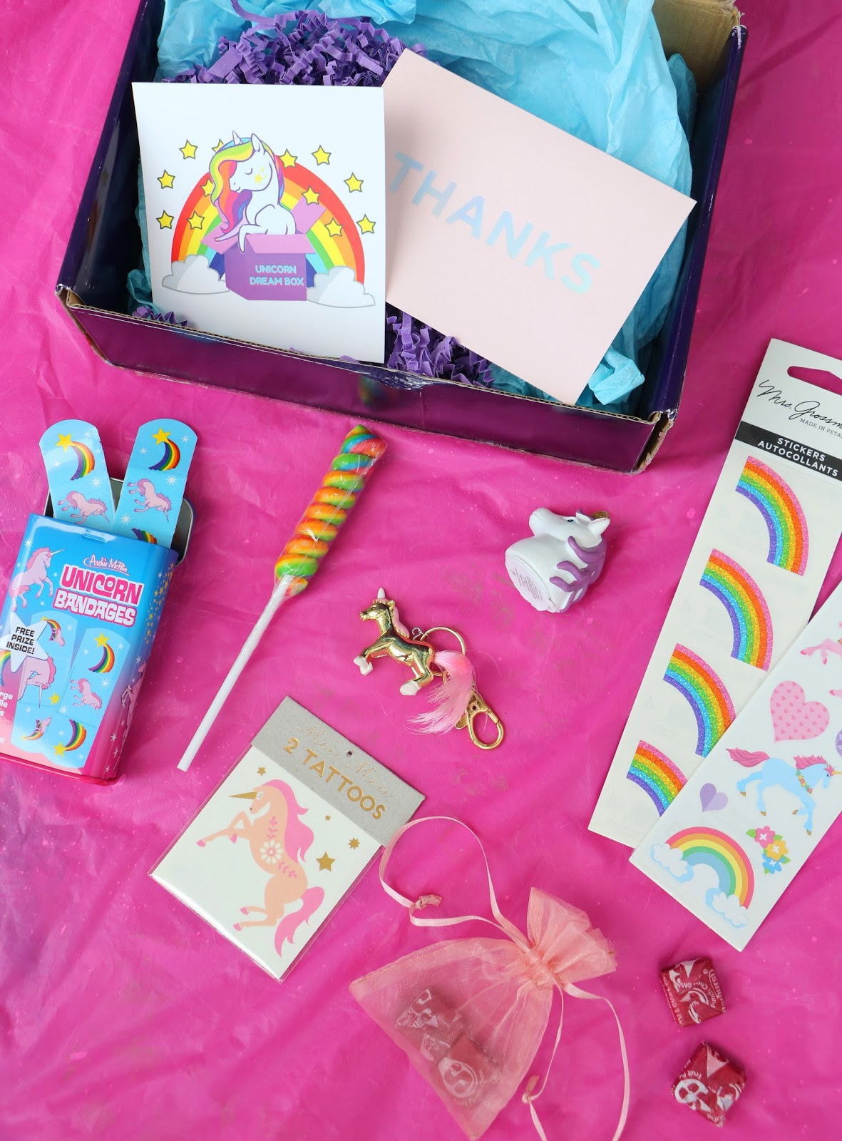Unboxing the September 2017 Unicorn Dream Box