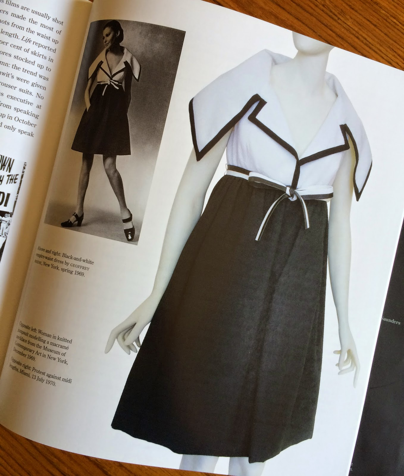 e75d98adf492 Book review - Sixties Fashion - From  Less is more  to Youthquake ...