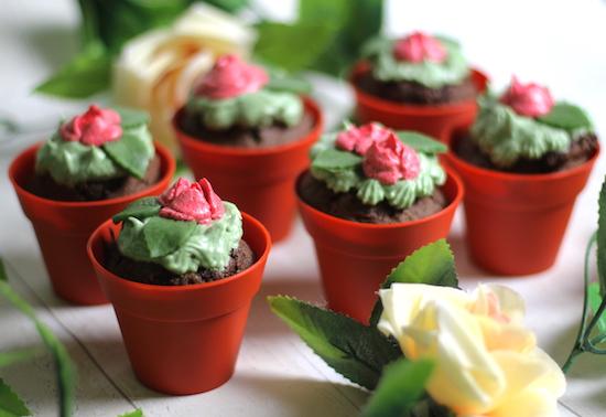 Rose Cupcakes Recipe