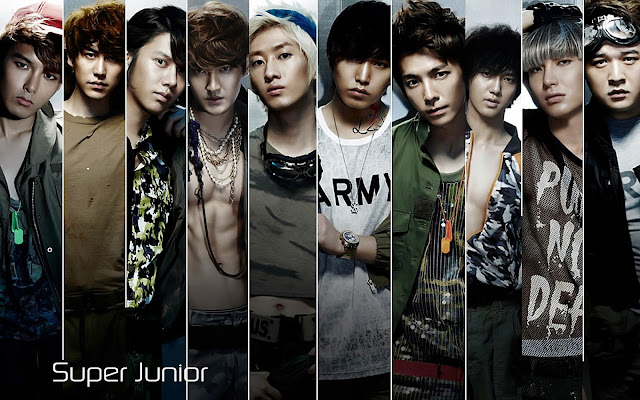 Lirik Lagu Sexy, Free & Single ~ Super Junior