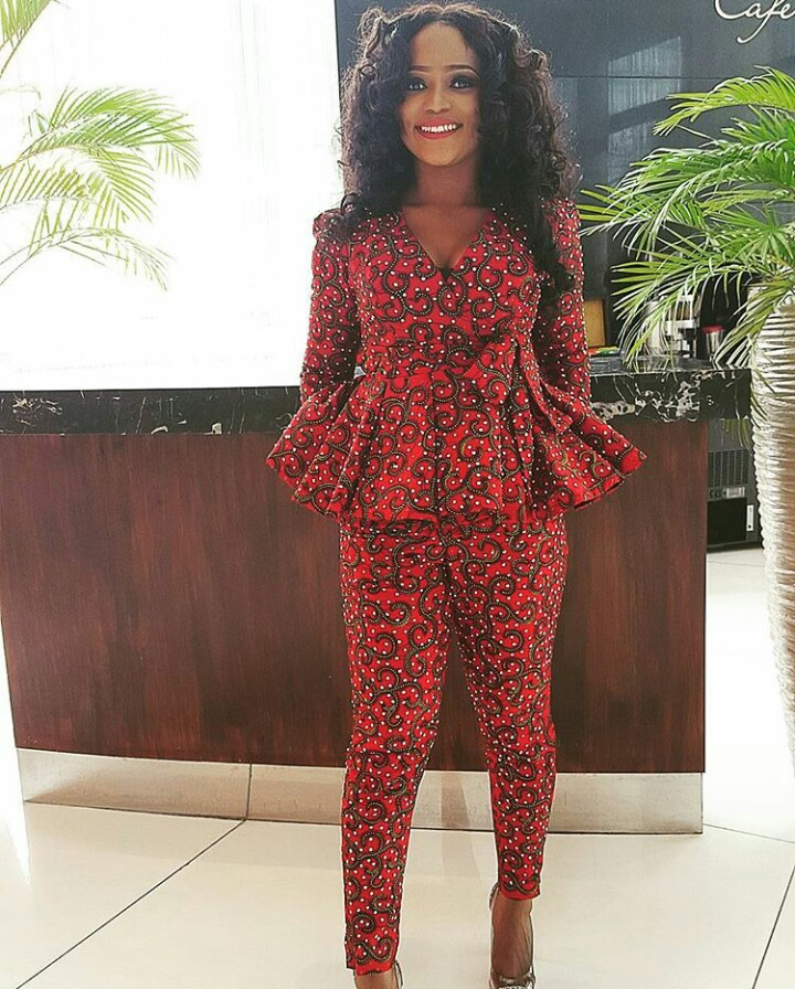 Kitenge Trousers And Jumpsuit Outfits Fashenista