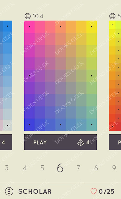 I Love Hue Scholar Level 6 Solution, Cheats, Walkthrough