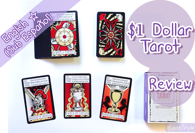 Review, Dollar Tree Tarot, Koori Style, Koori Midnight, Tarot, Deck, Decks, Cards, Illustrations, LWB, Booklet, Occult, Spiritual, Oracle, Mystical, Cartas, Baraja, Mazo, Colección, Ilustración, Rider, Waite, First Impression
