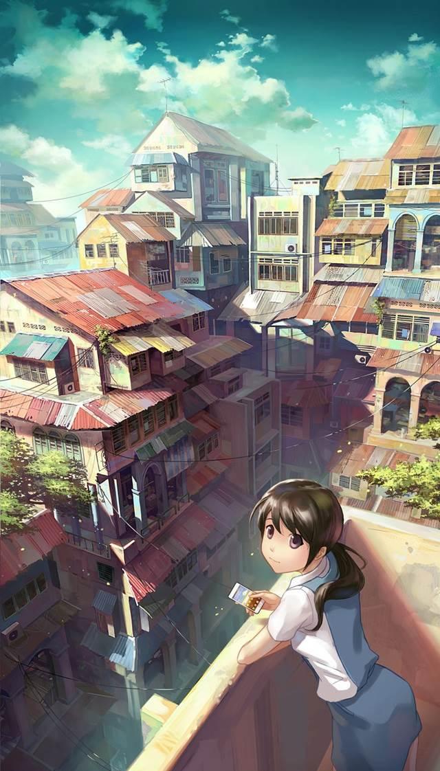 girl on bacony manga