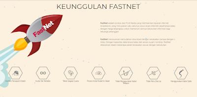 Keunggulan Berlangganan Internet First Media FastNet
