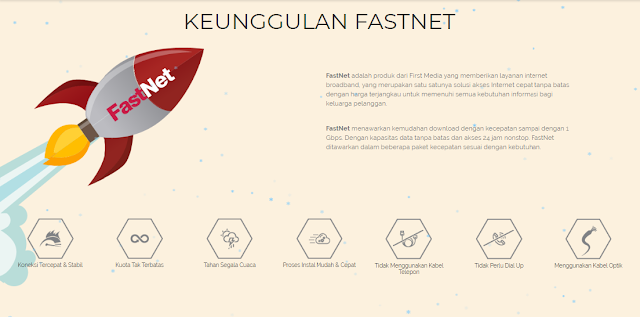 Keunggulan Berlangganan Internet First Media FastNet