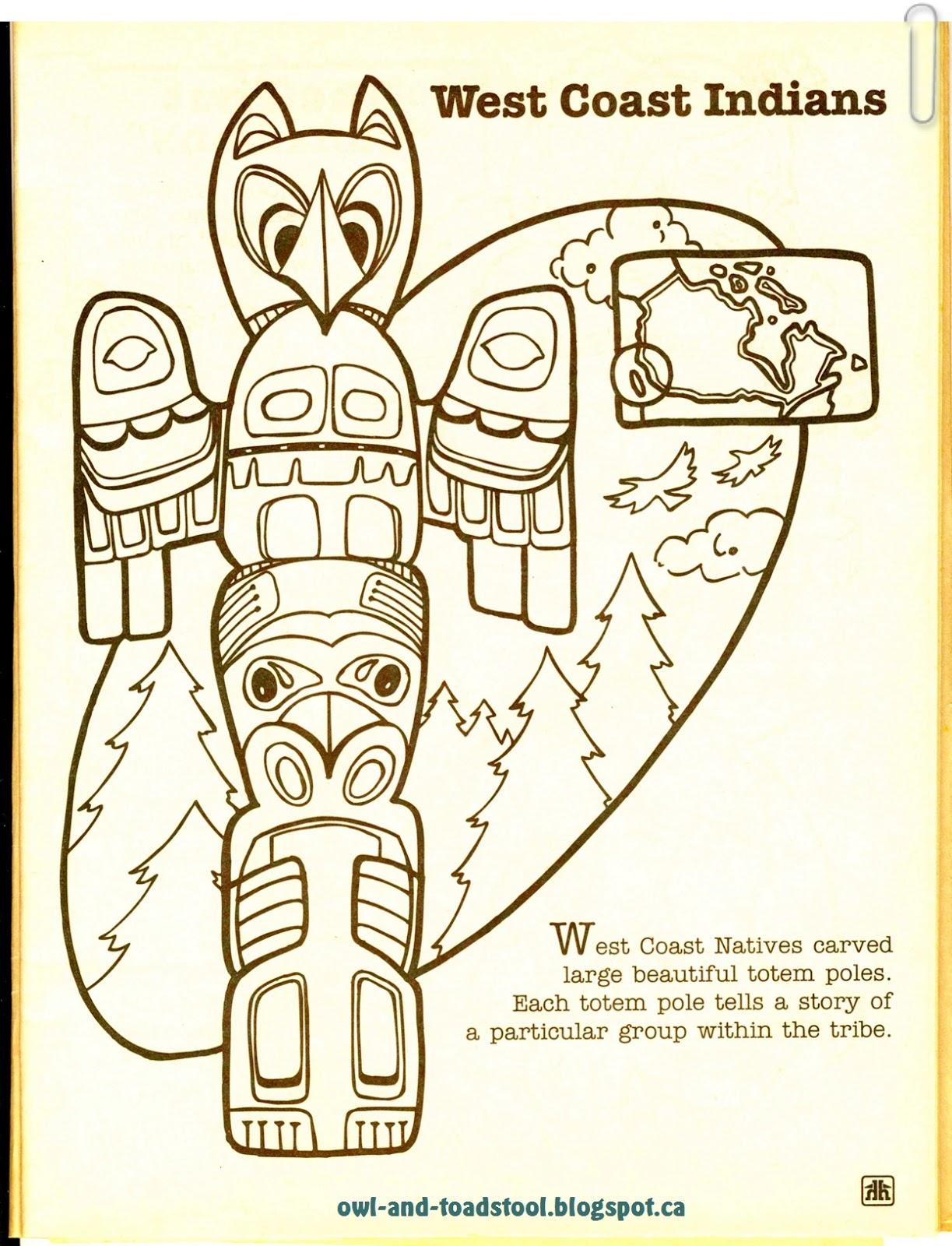 Owl Amp Toadstool Brownies Aboriginal Badge Lapbook