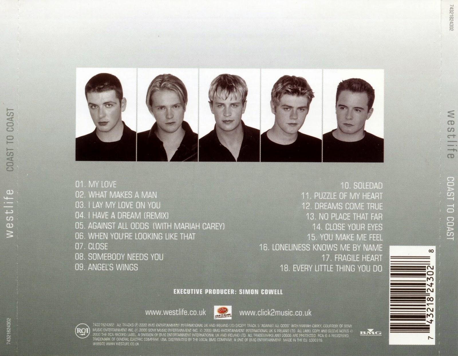 MUSIC] Westlife - Coast To Coast 2000 - Berita Terbaru
