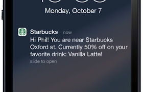 geofencing marketing guide starbucks mobile application