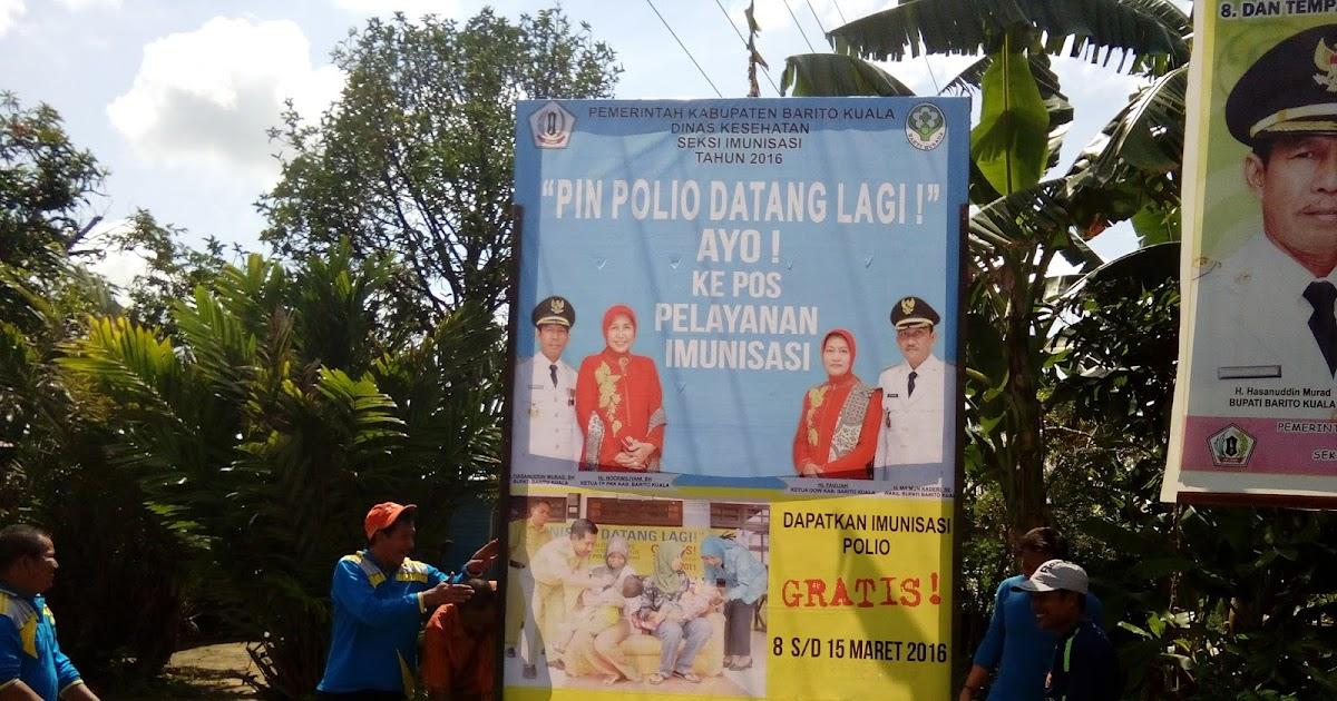 matapuskes.Com: PEKAN IMUNISASI NASIONAL (PIN) POLIO 2016